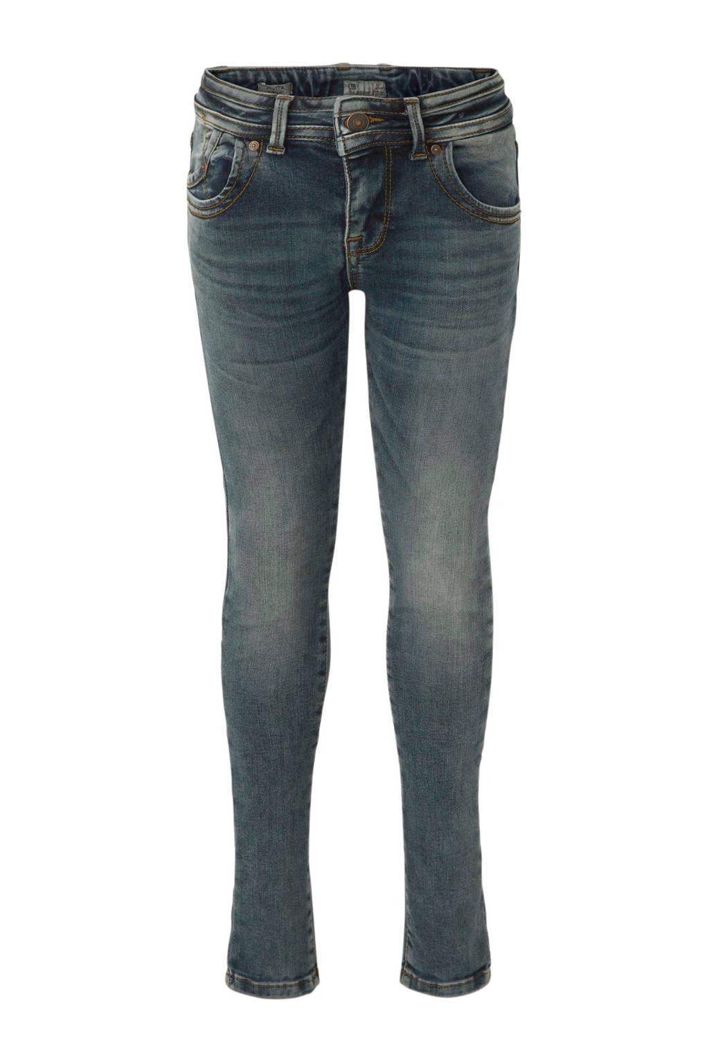LTB skinny fit jeans Julita donkerblauw, Dark denim