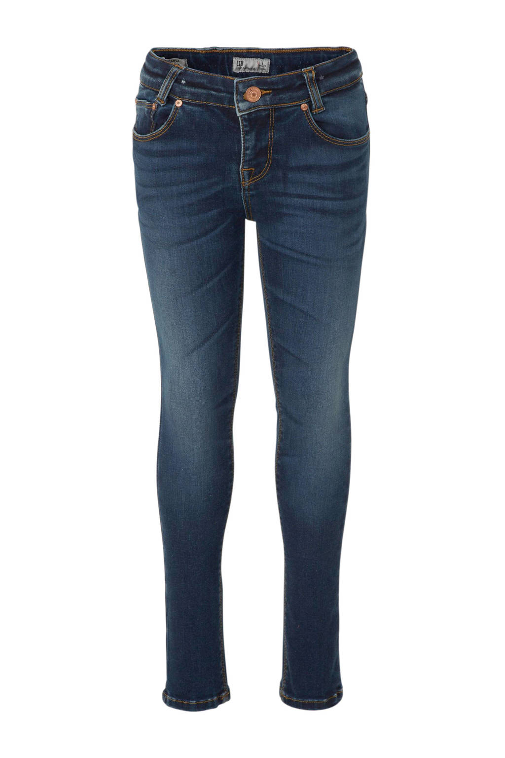 LTB skinny jeans Luna, Donkerblauw (Muly wash)