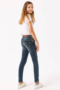 LTB skinny fit jeans Amy donkerblauw, Stonewashed