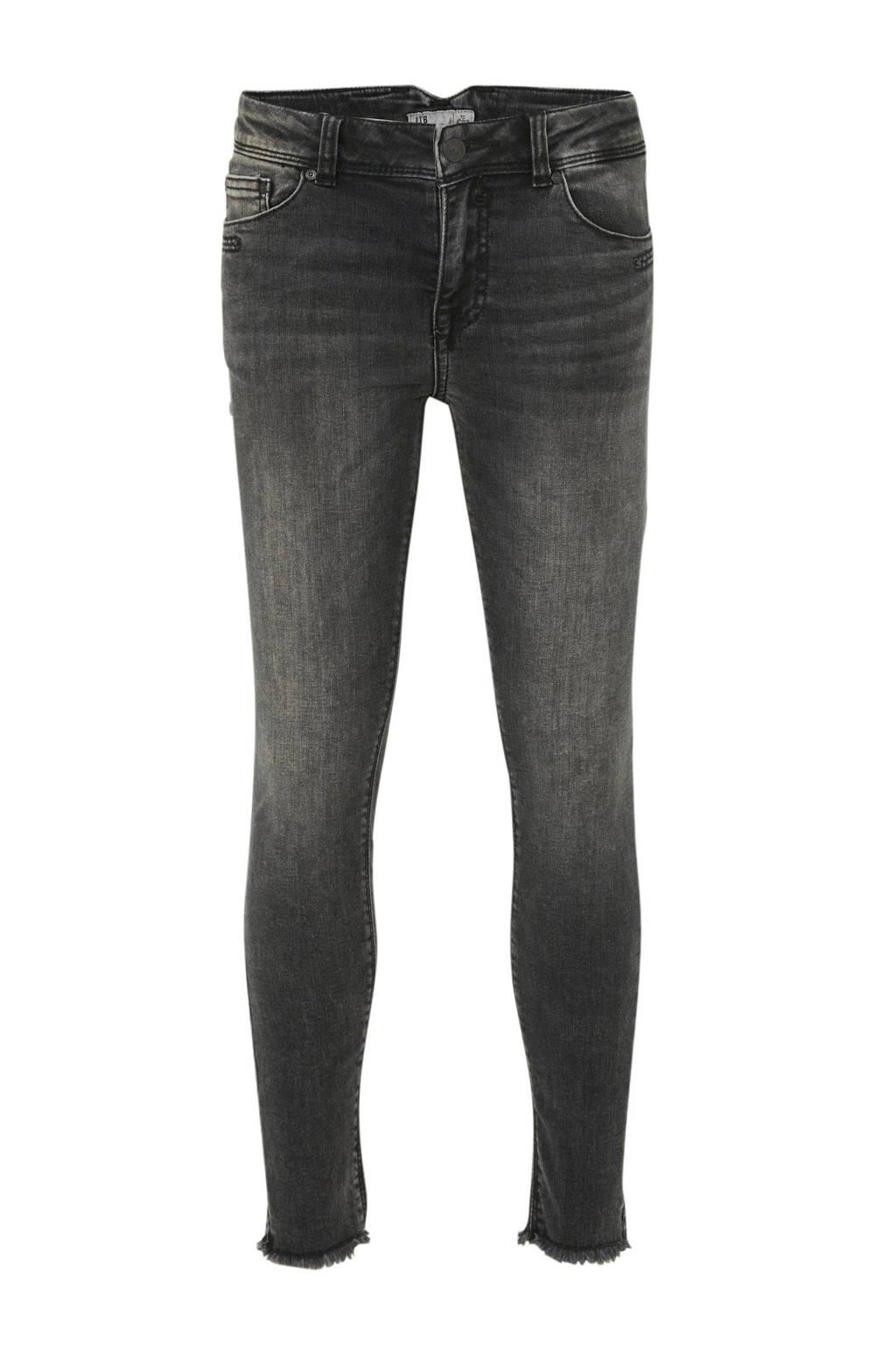 LTB cropped skinny jeans Georget zwart, Zwart