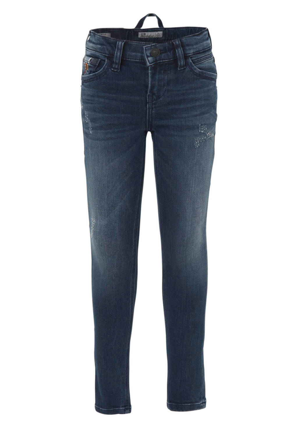LTB skinny fit jog denim Cayle stonewash, Dark denim
