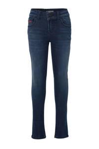 LTB skinny jeans donkerblauw (fiona wash), Donkerblauw (Fiona wash)