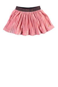 Babyface fluwelen rok met plooien roze, Roze