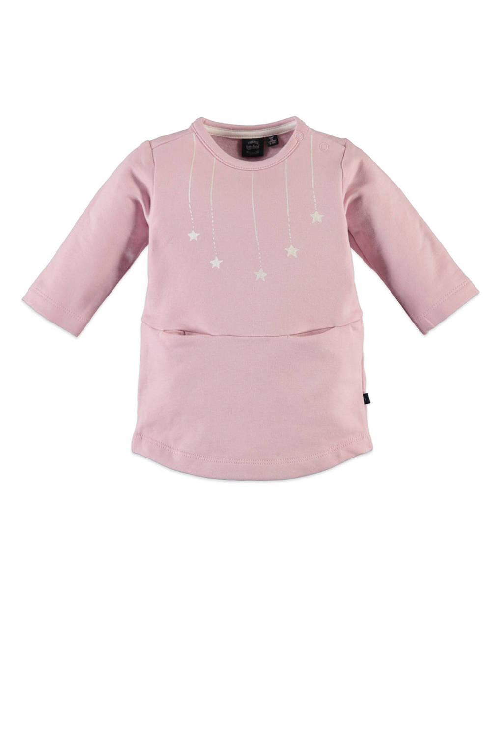 Babyface jersey jurk met printopdruk roze, Roze
