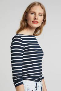 Tommy Hilfiger gestreept T-shirt donkerblauw, Donkerblauw/wit