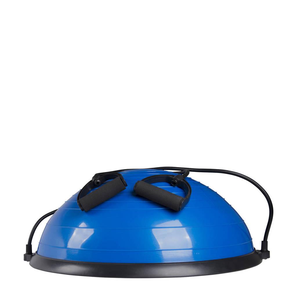 Virtufit Balanstrainer met Fitness Elastieken, Blauw