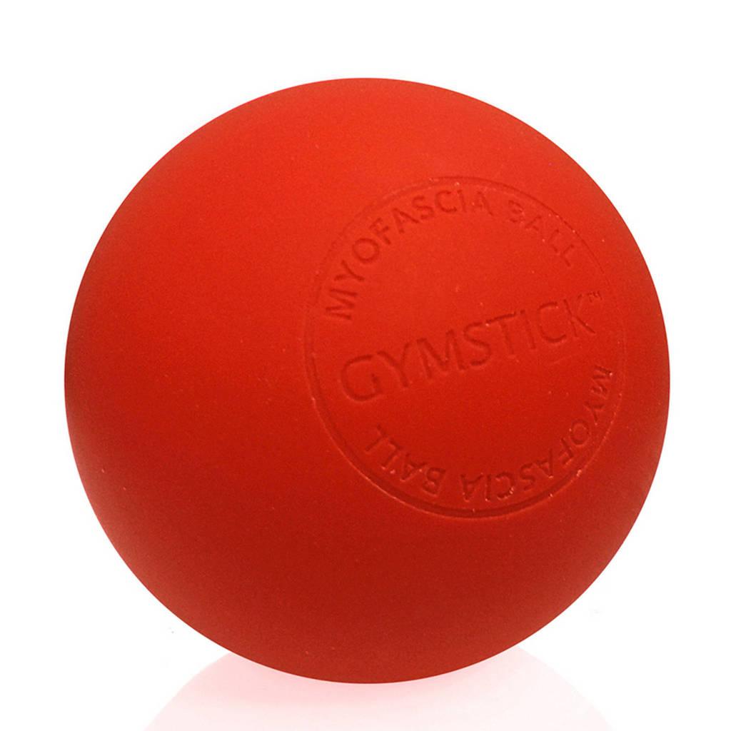 Gymstick MyoFascial Massage Bal met Trainingsvideo's, Rood