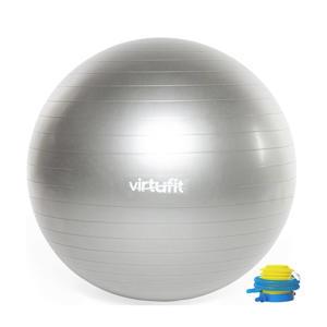 Anti-Burst Fitnessbal Gymbal Grijs 85 cm met Pomp