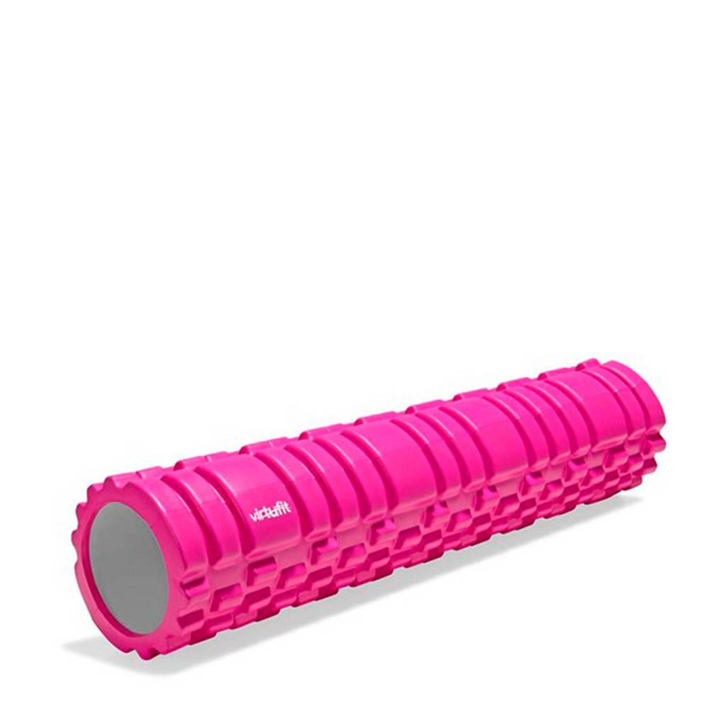Virtufit Grid Foam Roller 62 cm - roze, Roze