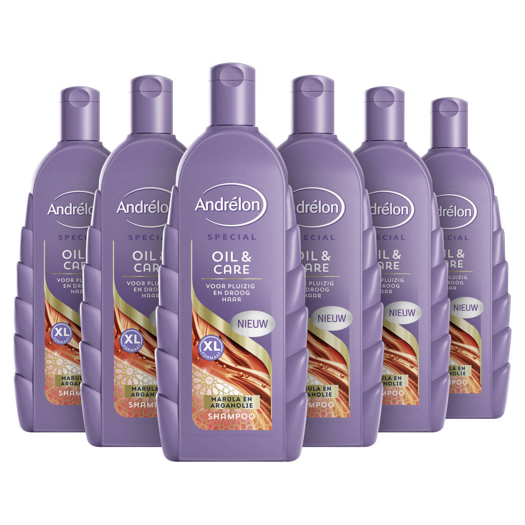 Andrelon Special Oil & Care shampoo - 6x300 ml