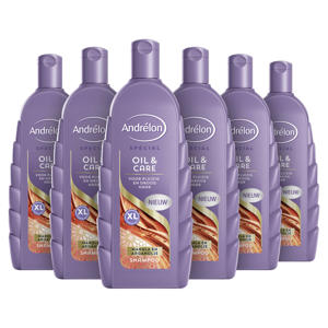 Special Oil & Care shampoo - 6x300 ml