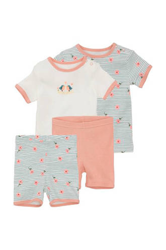 baby shortama - set van 2