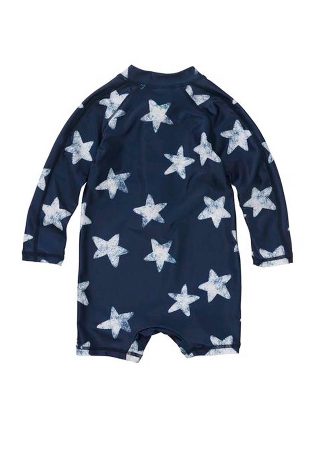 HEMA UV zwempak met sterren blauw, Donkerblauw