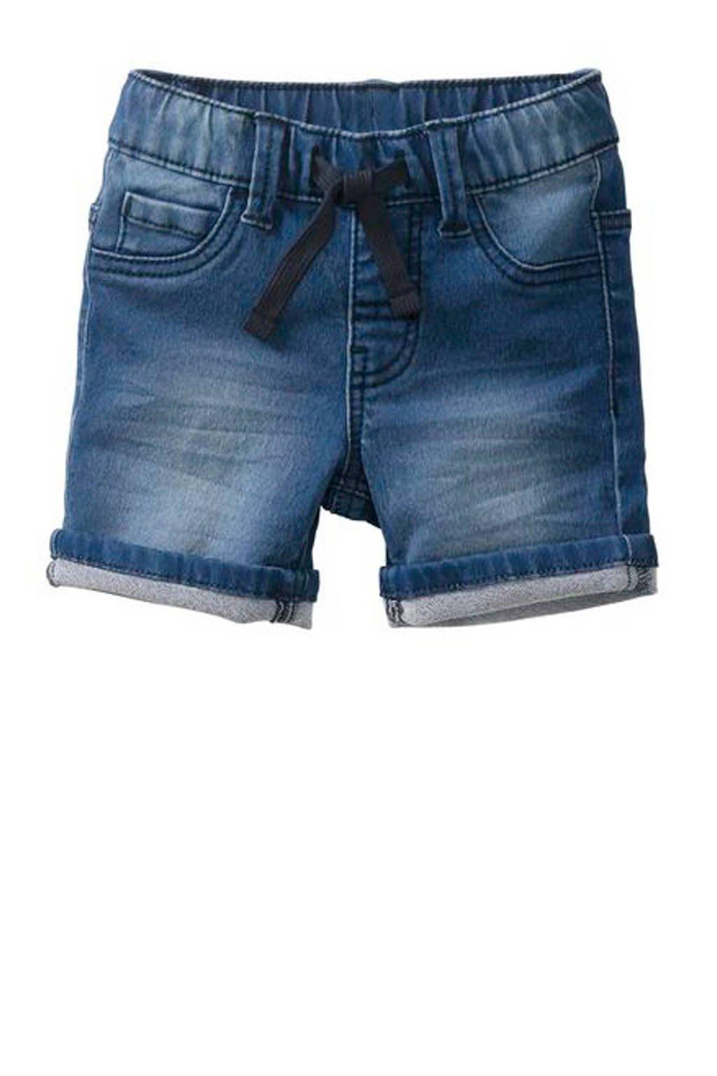 HEMA jeans bermuda, Dark denim