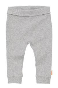 HEMA broek met textuur grijs melange, Grijs melange