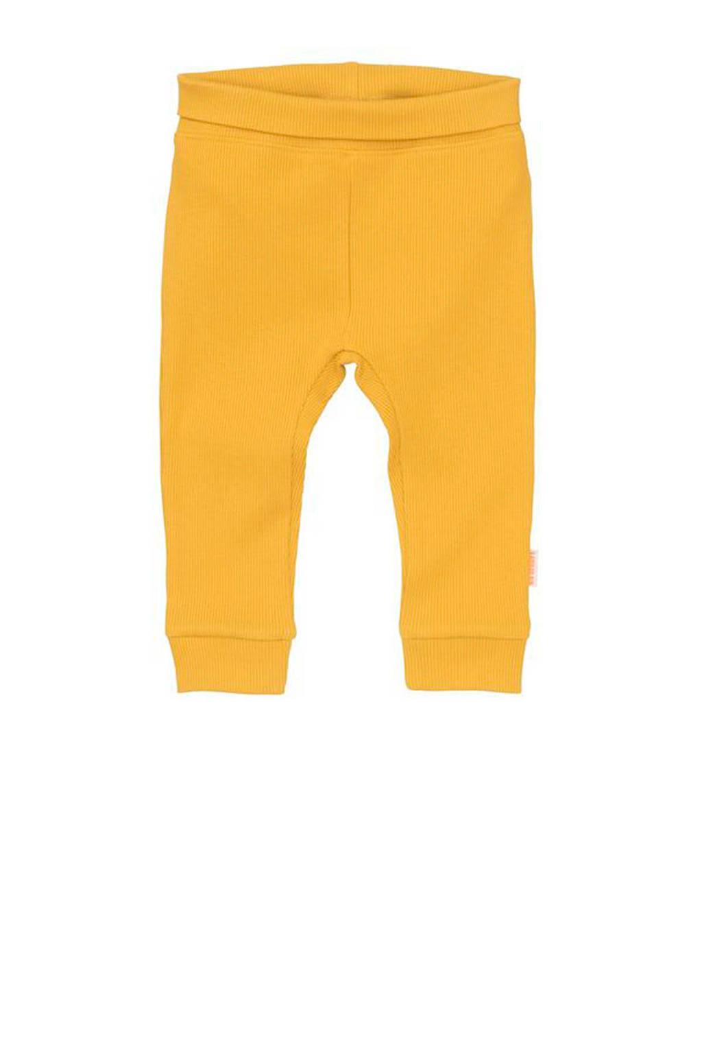 HEMA newborn baby broek met bamboe geel, Geel