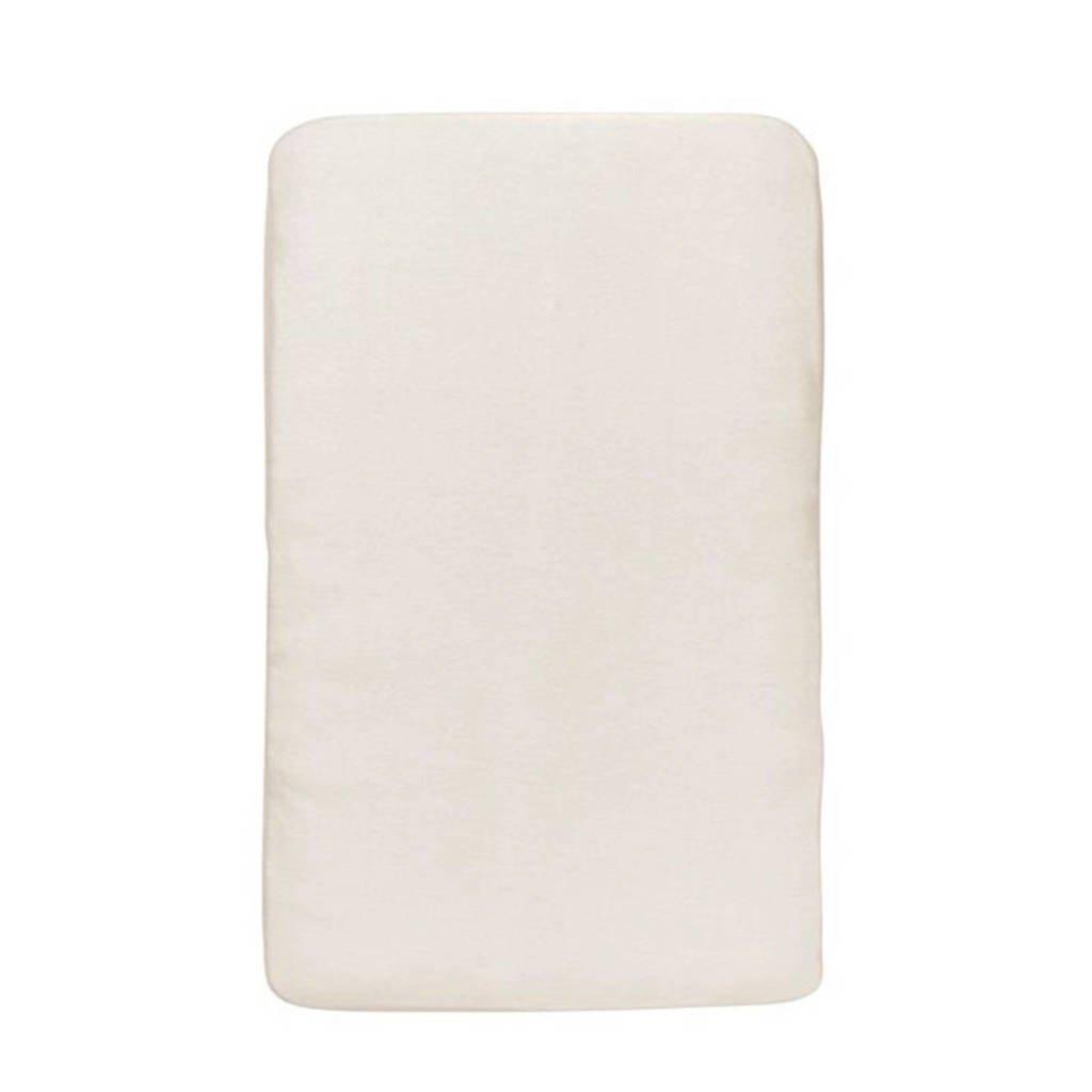 HEMA aankleedkussenhoes 50x70 cm wit, Wit