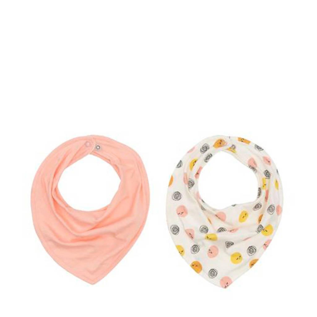 HEMA bandana slab roze/stip - set van 2, Roze