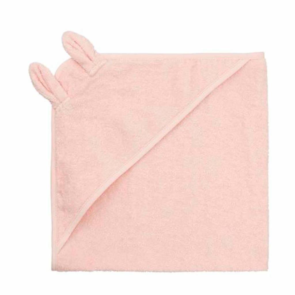 HEMA badstof badcape 70x70 cm roze, Roze