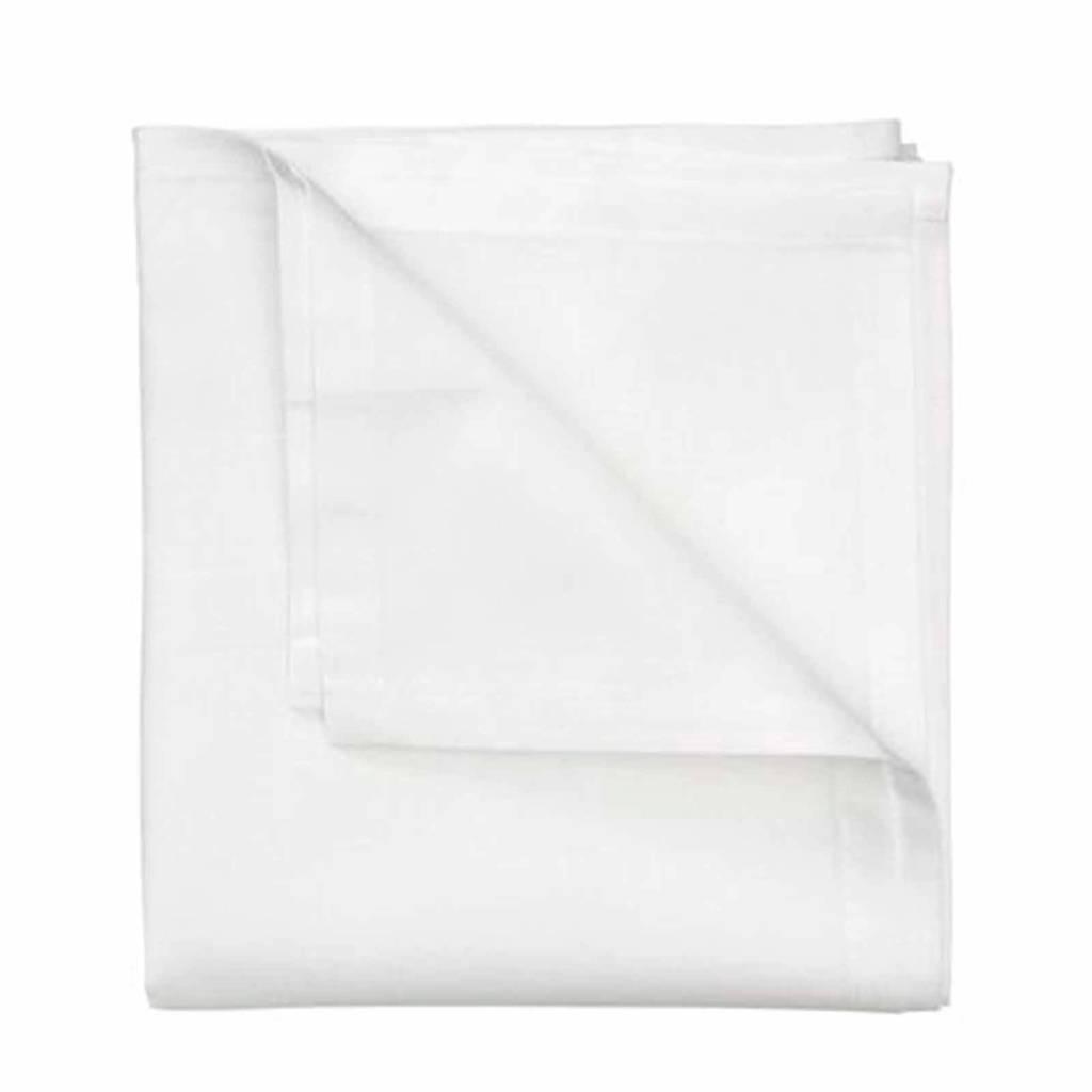 HEMA wieglaken 80x100 cm wit - set van 2, Wit