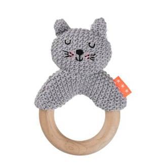 rammelaar kat grijs