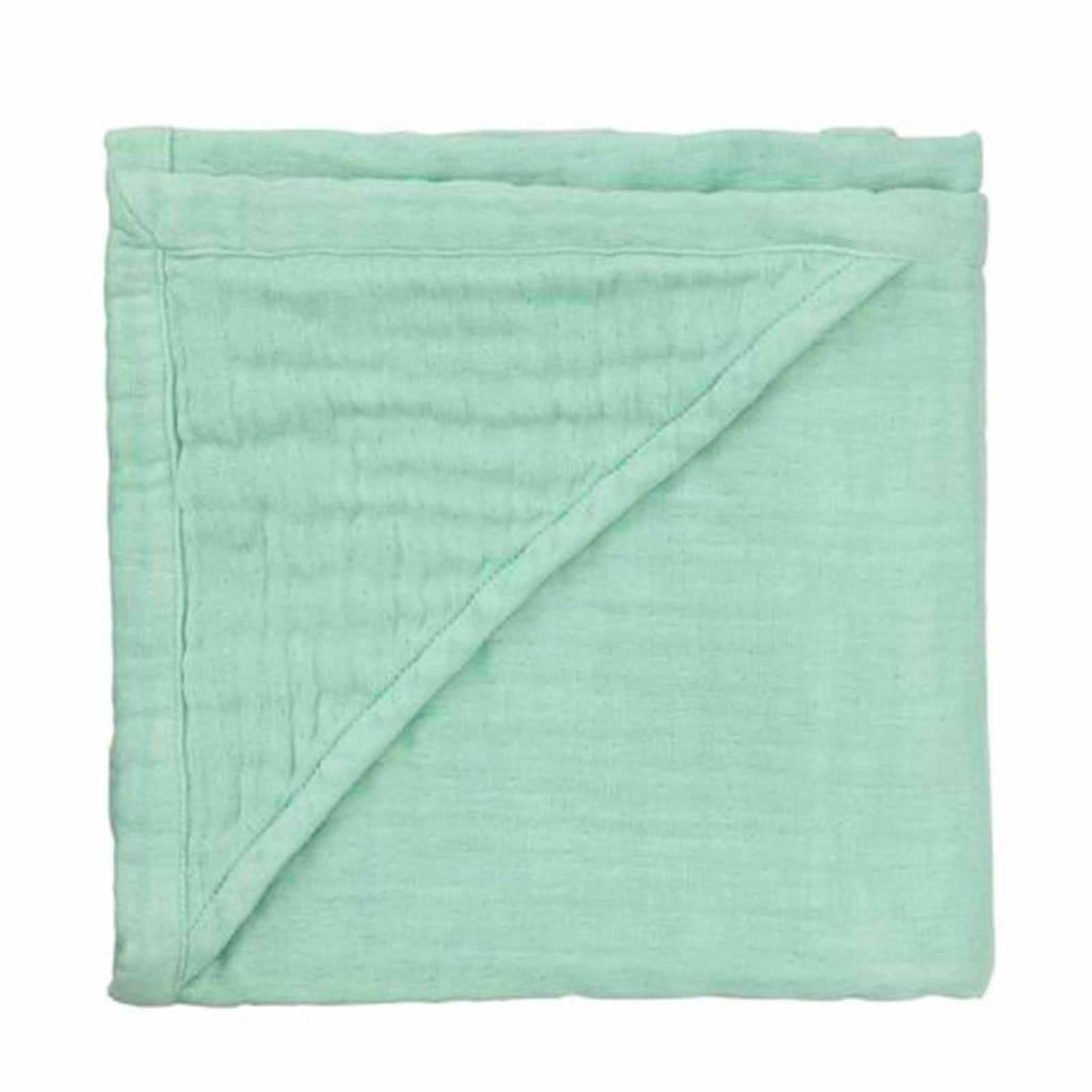 HEMA badcape 75x75 cm groen, Groen