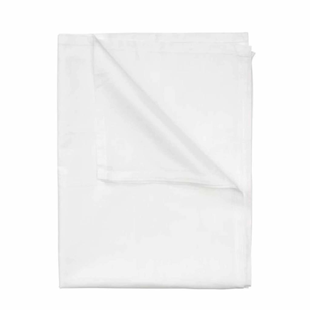HEMA baby ledikantlaken - set van 2 120x155 cm wit, Wit