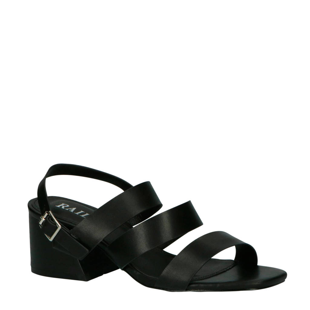 Raid Sondra-1 sandalettes zwart, Zwart