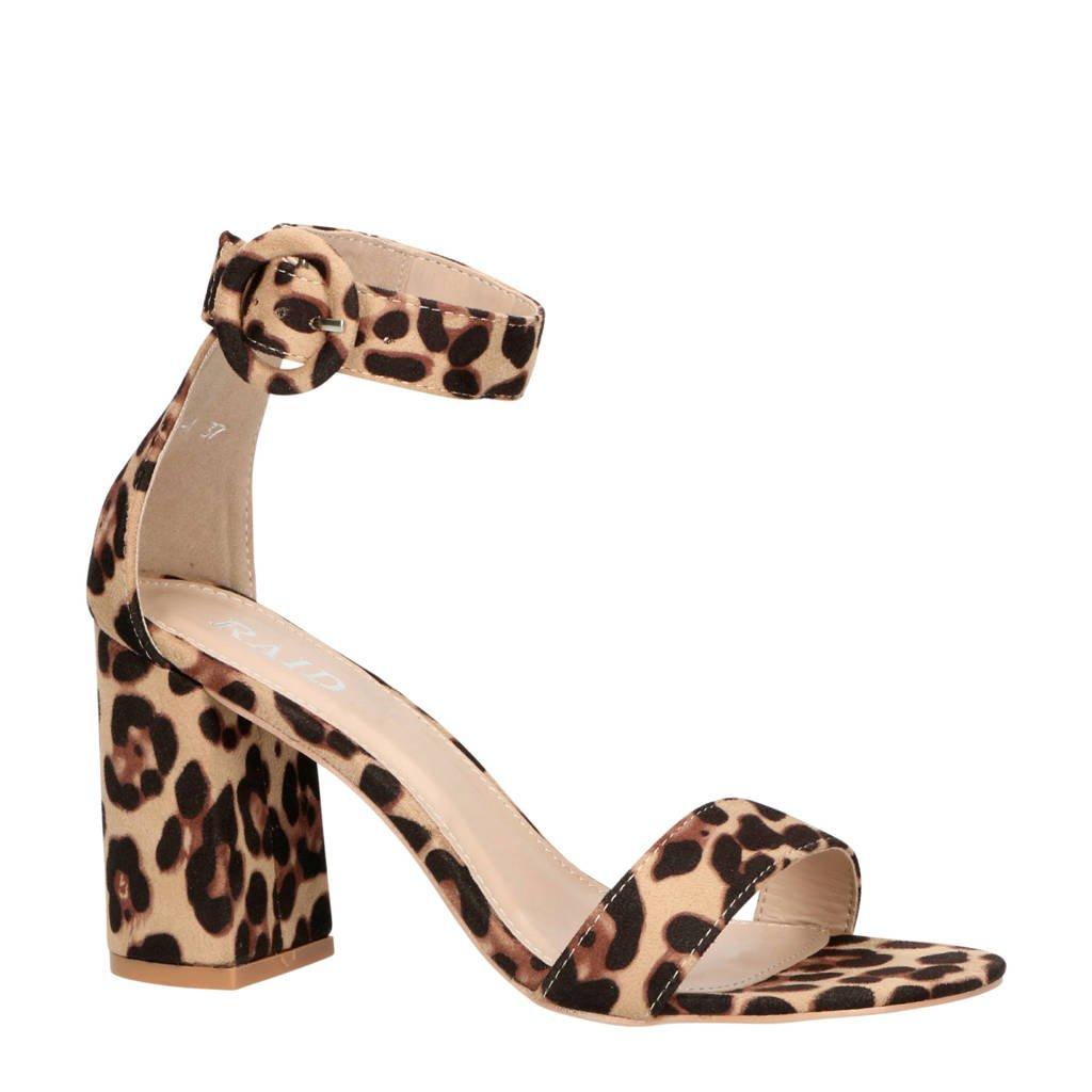 Raid Genna-1 sandalettes panterprint, Bruin