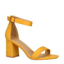 Jeanette-1 sandalettes geel