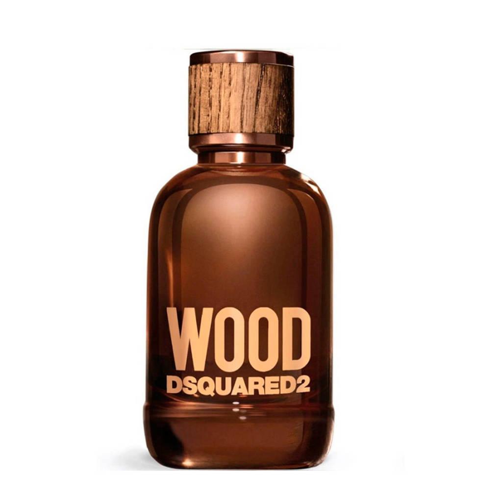 Spiksplinternieuw Dsquared Wood For Him eau de toilette - 100 ml | wehkamp AF-76