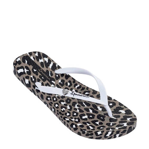 Ipanema teenslippers met luipaardprint