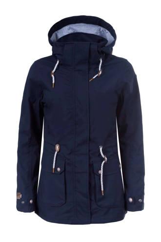 outdoorjas Lane donkerblauw