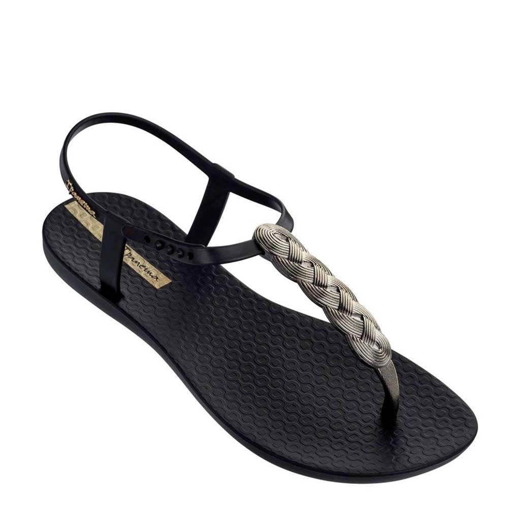 Ipanema Charm sandalen zwart/goud, Zwart/goud