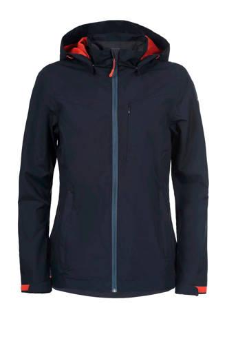 outdoor jas Silvana donkerblauw