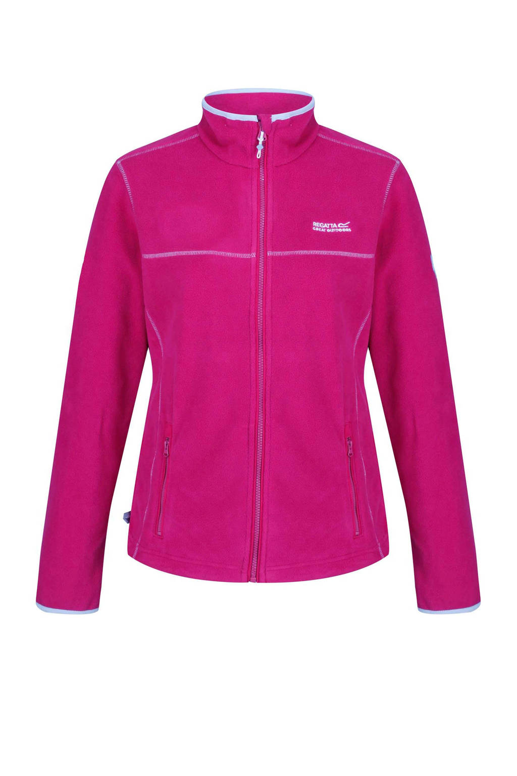 Regatta Floreo fleece jack roze, Dark Cerise