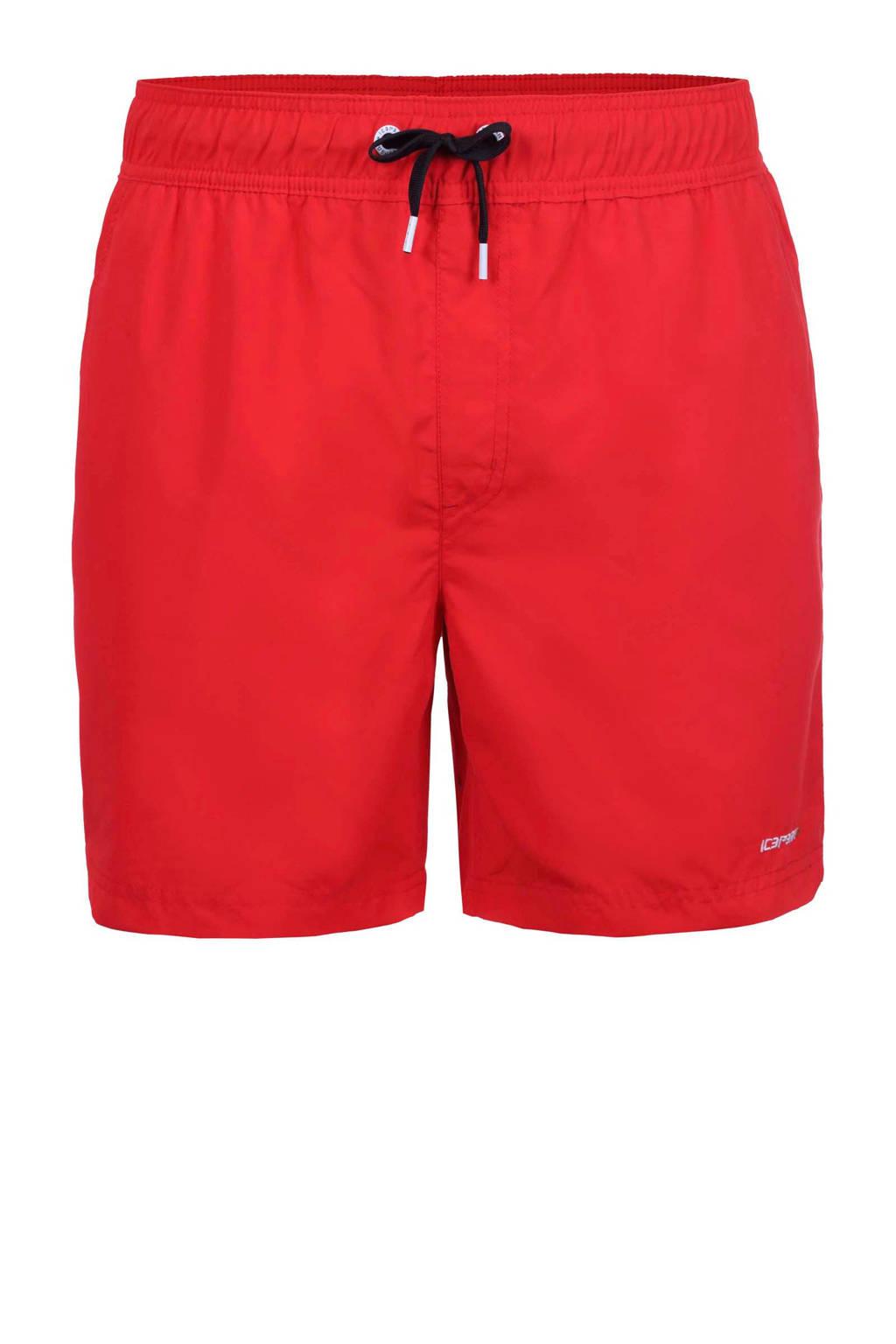 Icepeak Kade outdoor zwemshort rood, Classic Red