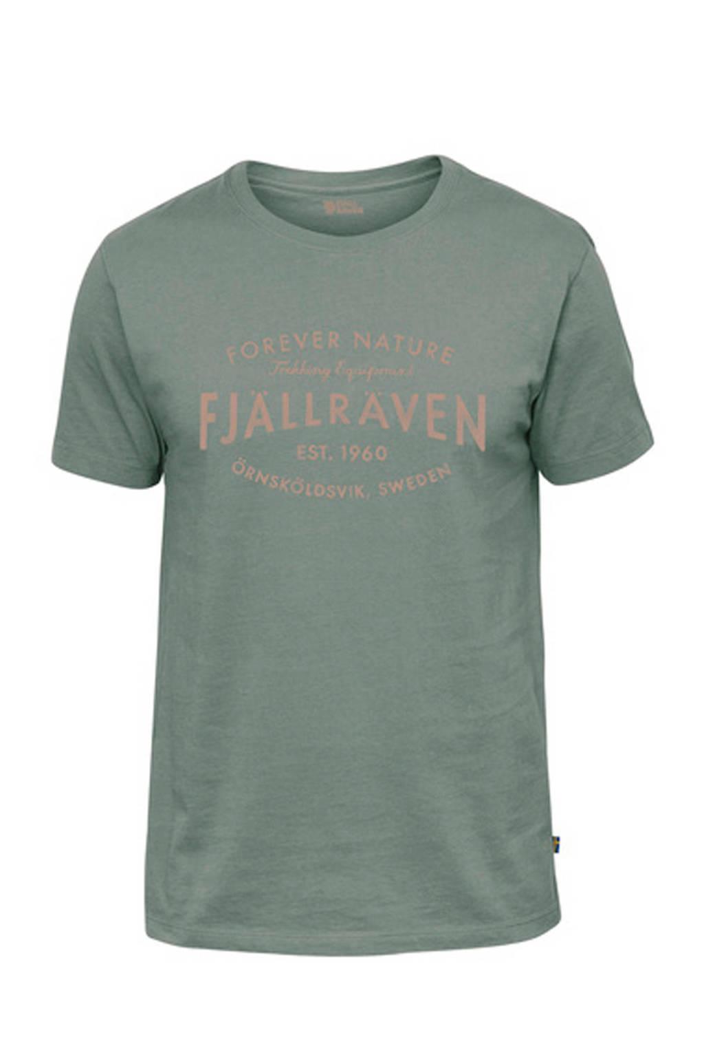 Fjällräven T-shirt groen, Sage Green