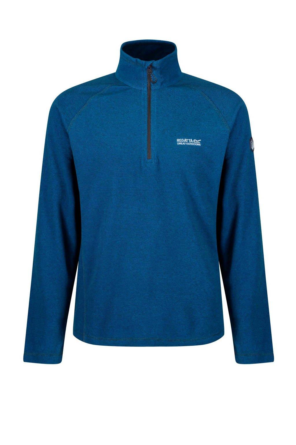 Regatta   fleece fleecejack blauw, Blauw