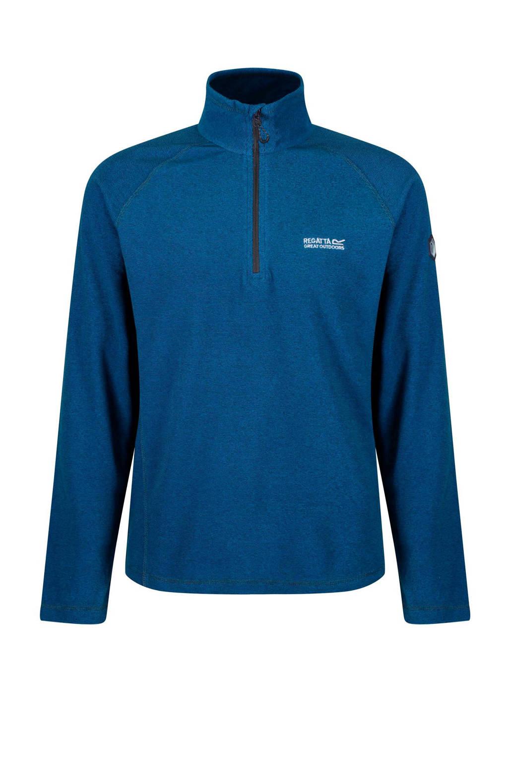 Regatta   Montes fleece jack blauw, Blauw