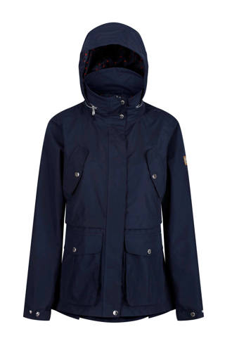 outdoor jas Nadalia donkerblauw