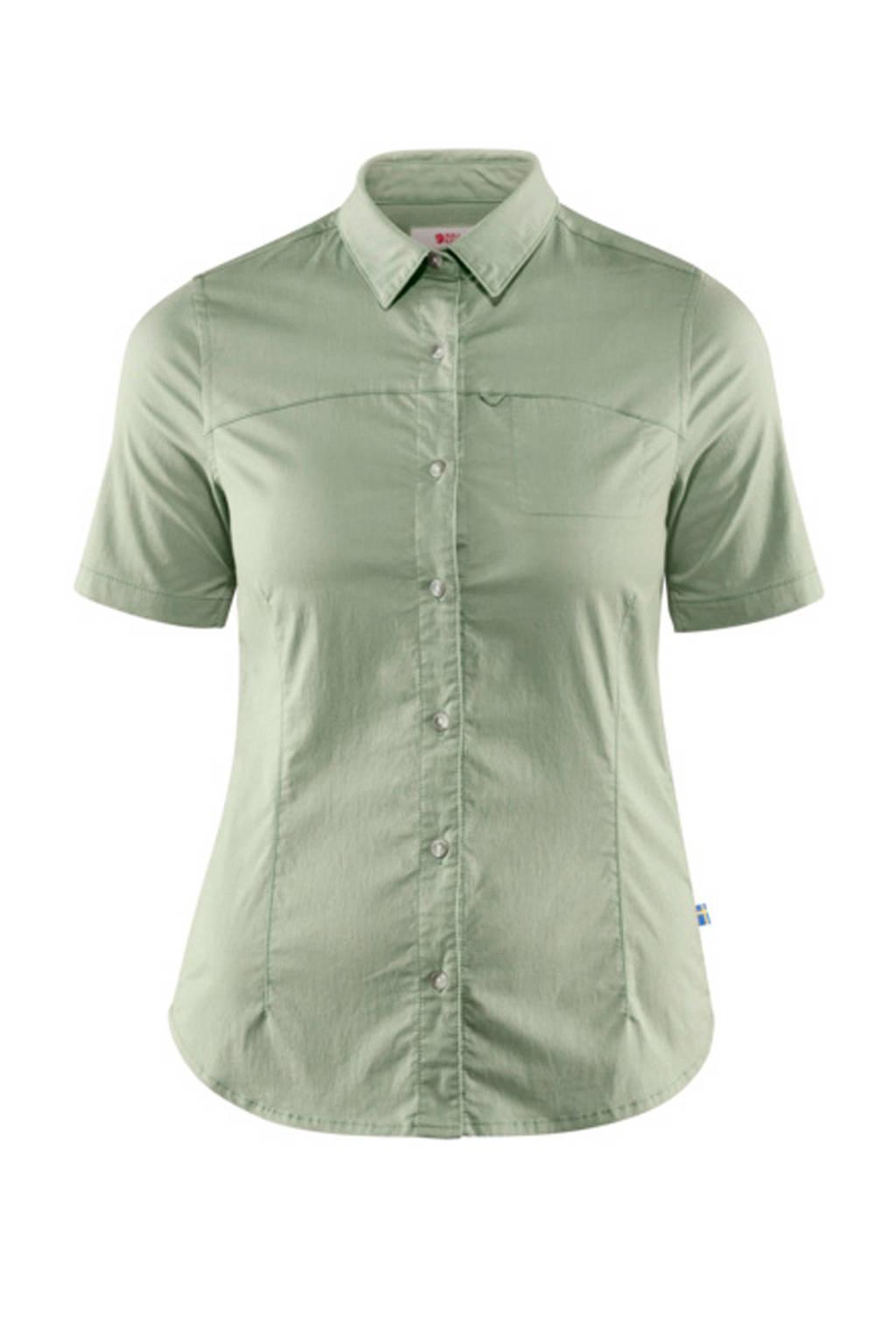 Fjällräven outdoor blouse High Coast Stretch groen, Sage Green