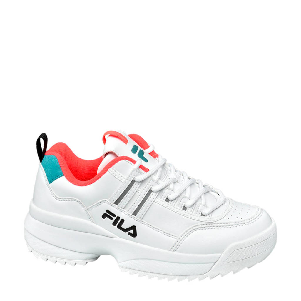 Fila  chunky sneakers wit, Wit