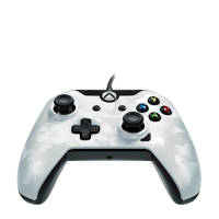 PDP bedrade controller (Xbox One/PC), Wit Camo