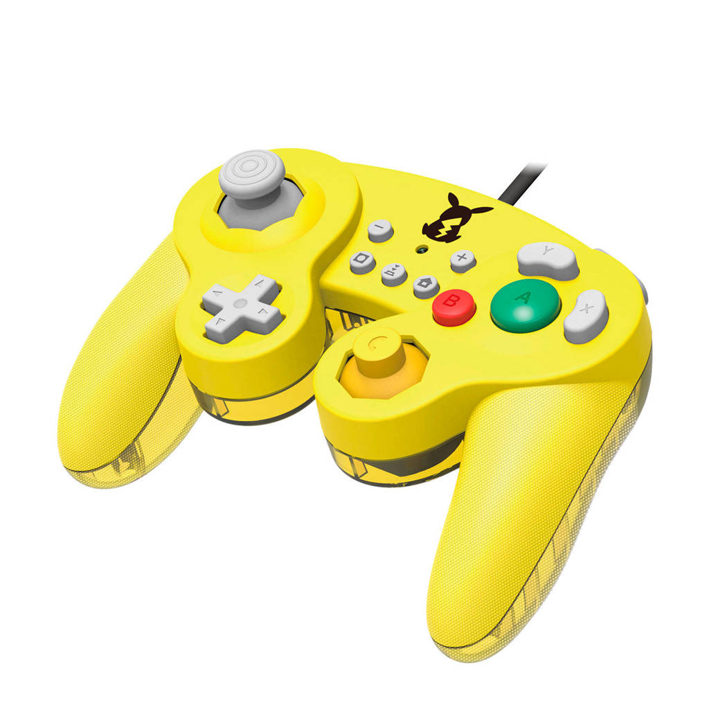Hori Nintendo Switch Controller Smash Bros gamepad Pikachu, Geel