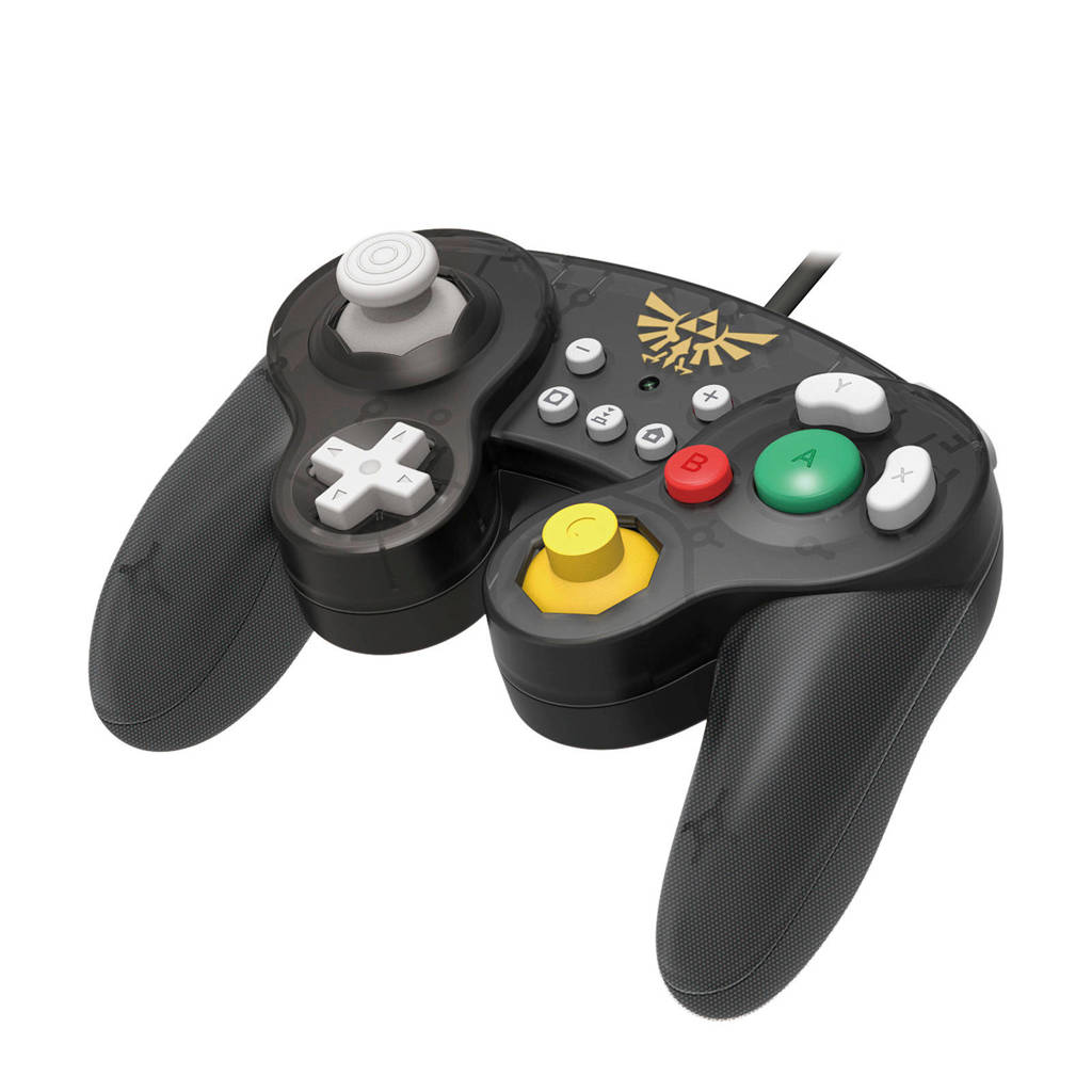 Hori Nintendo Switch controller Smash Bros Gamepad Zelda, Zwart