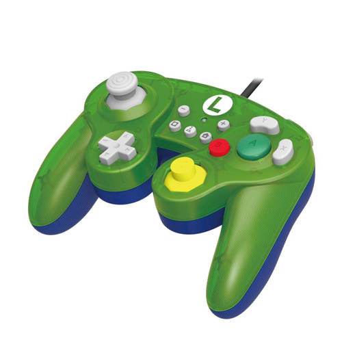 Hori Gamecube Style Battle Pad Luigi