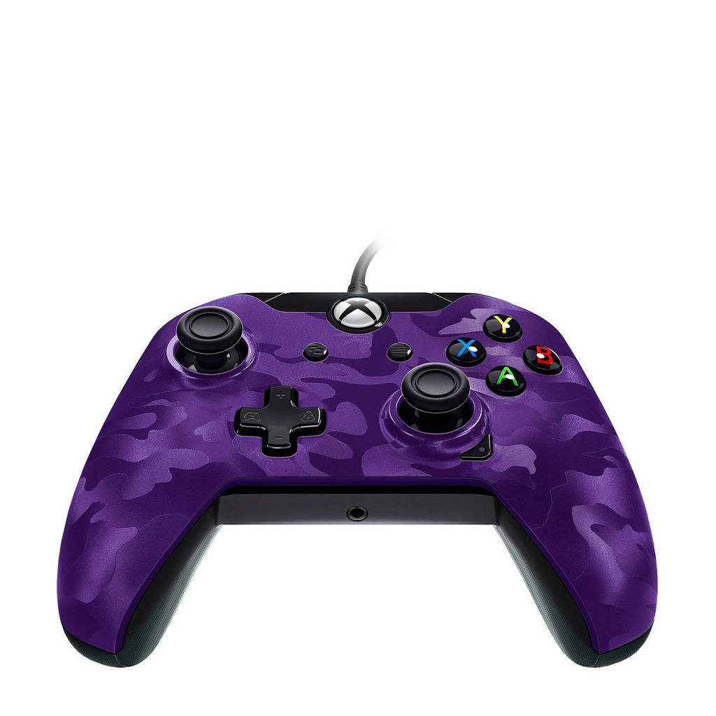 PDP bedrade controller (Xbox One/PC), Paars Camo