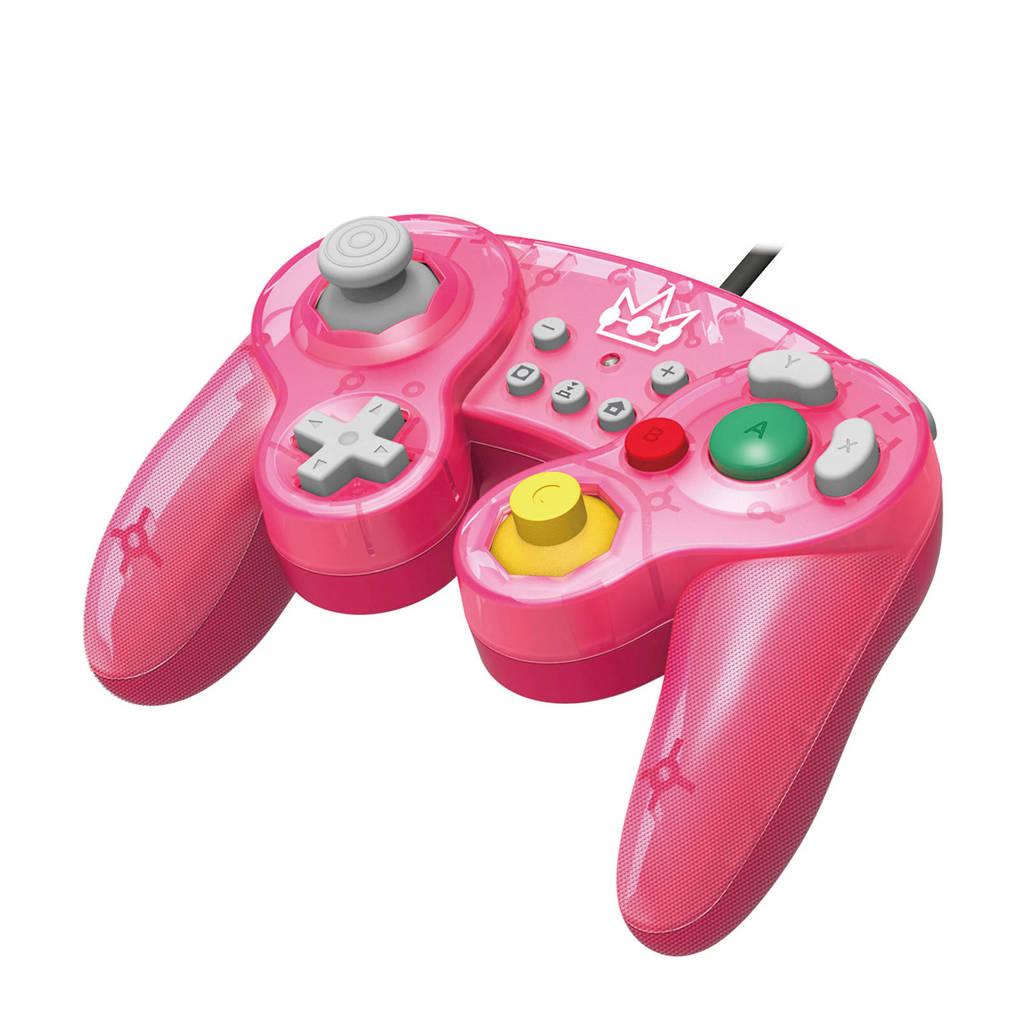 Hori Nintendo Switch controller Smash Bros Gamepad Peach, Roze