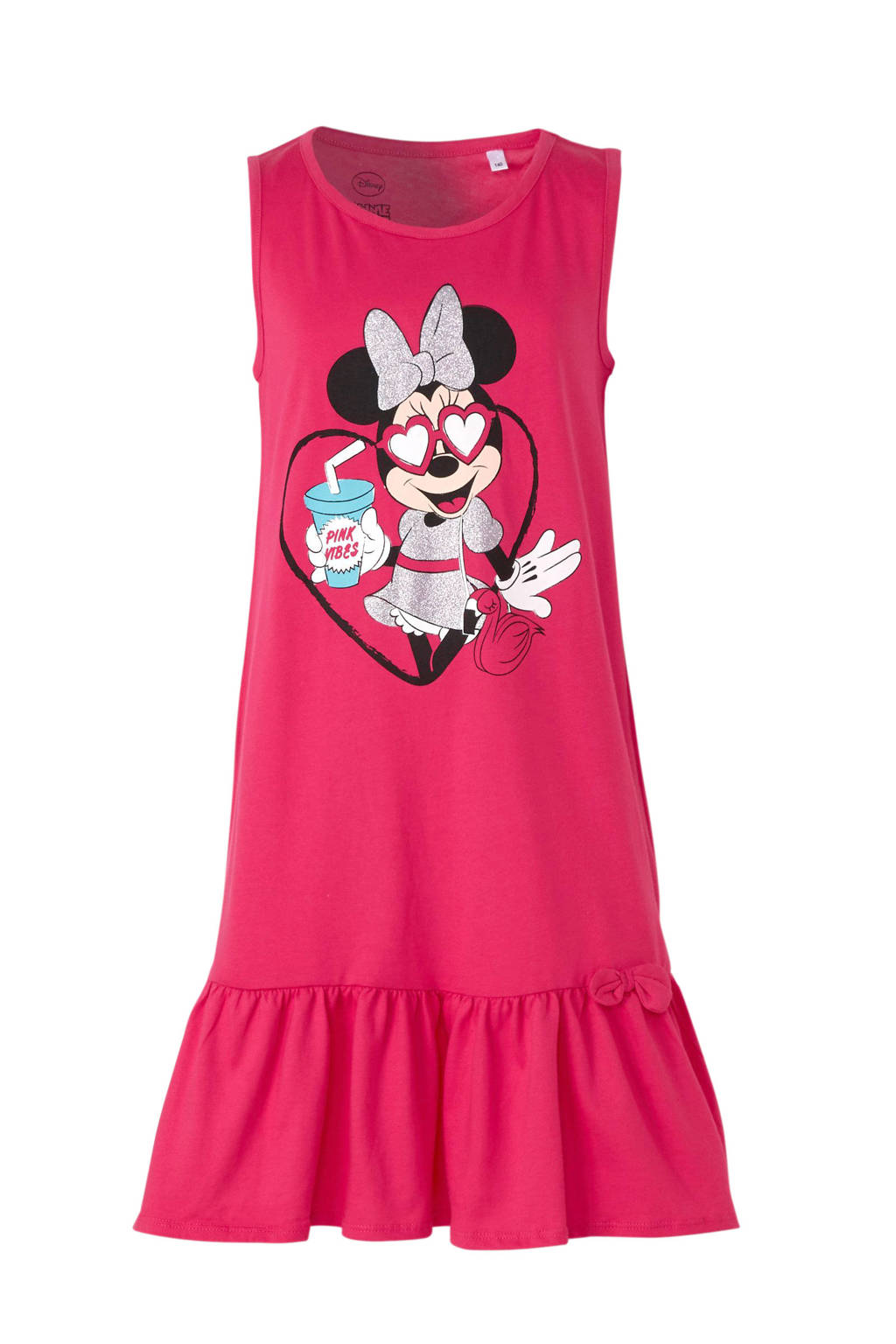 Disney @ C&A Minnie Mouse jurk - set van 2, Roze/wit